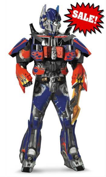 discount supreme theatrical Optimus Prime Halloween Costume Transformers