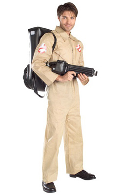 Adult Original Ghostbusters Costume 1984 movie