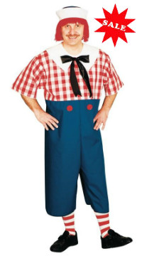 Men's Raggedy Andy Halloween costume