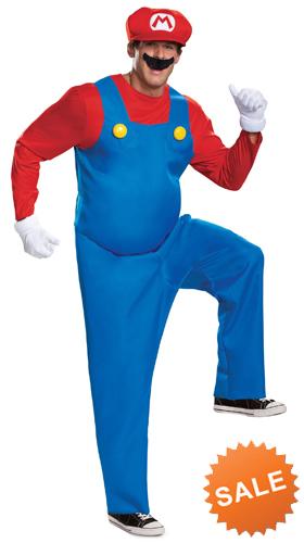 Super Mario Deluxe Halloween Costume