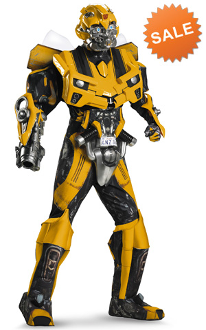 Bumblebee 3D movie costume