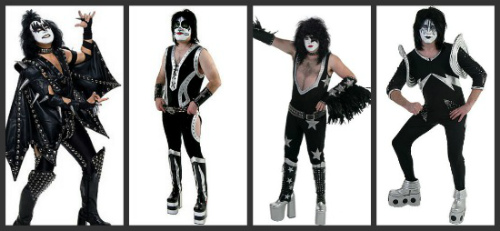 authentic KISS Halloween Costumes