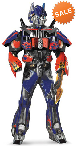 Optimus Prime 3D Movie Costume