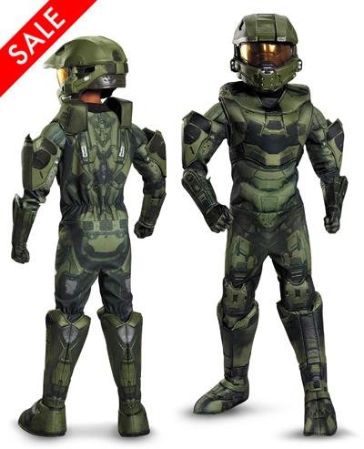 Kids Halo: Master Chief Prestige Costume