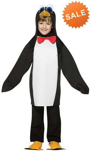 Child Penguin Halloween Costume for Sale