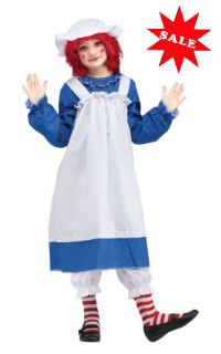 Child Classic Raggedy Ann Costume
