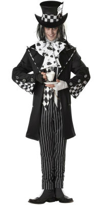 Dark Mad Hatter Halloween Costume
