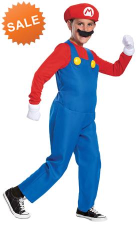 Kid Super Mario Halloween Costume