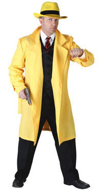 Yellow Jacket Gangster Adult Costume - Standard
