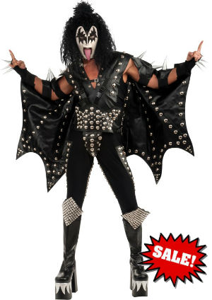 Kiss Gene Simmons Demon Costume