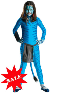 Girls Avatar Costume Neytiri