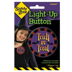 Halloween Safety Light Button