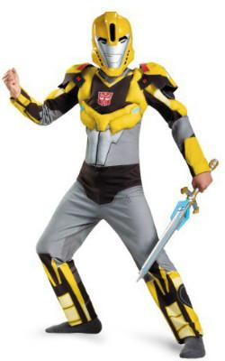 Kids Animated Bumblebee Costume