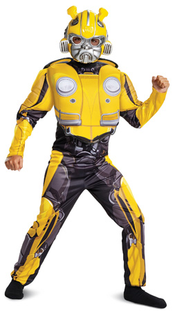 Bumblebee movie costume for kids