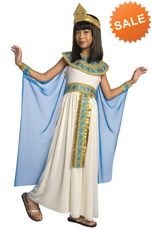 Fancy Child Cleopatra Costume for Girls Halloween