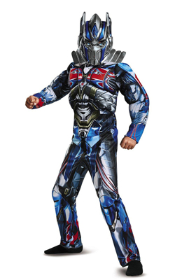 Transformers 5 Optimus Prime Kids Muscle Costume