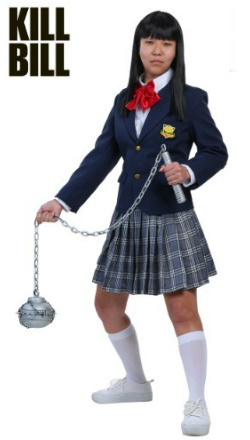 Kill Bill Gogo Yubari School Girl Costume
