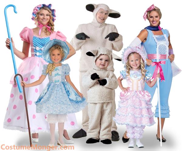 Little Bo Peep Costumes for Halloween