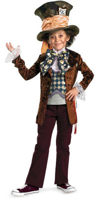 Child Mad Hatter Halloween Costume