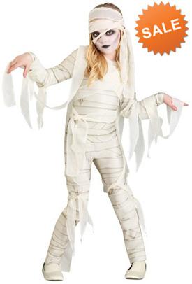 Halloween Mummy Girl Costume