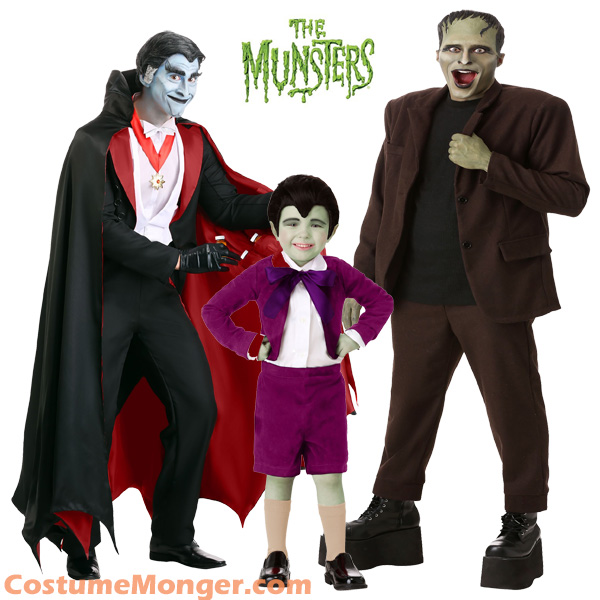 The Munsters TV Halloween Costumes