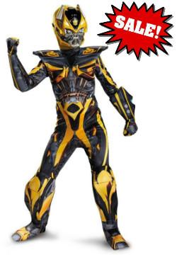Deluxe Kid Bumblebee Transformers  Costume