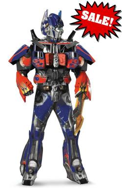 Optimus Prime 3D Movie Costume