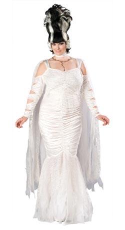 Plus Bride Of Frankenstein Costume