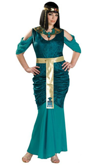 Plus Full Figure Cleopatra Costume