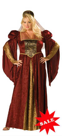 Plus Size Full Figure Renaissance Costume