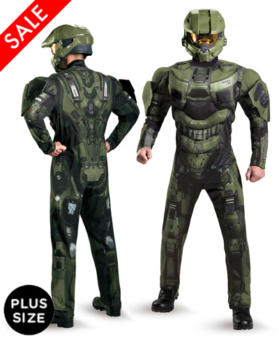 Plus Size Halo Master Chief Costume