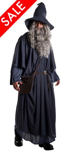 Premium Movie Gandalf Costume for Plus Size Men