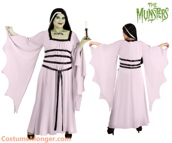 Plus Size Lily Munster Costume