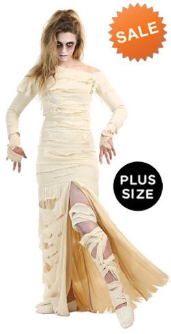Plus Size Mummy Woman Costume