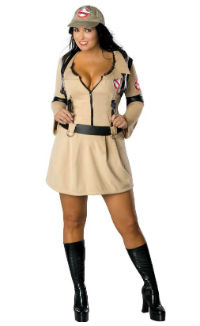 Plus Size Woman Ghostbusters Costume