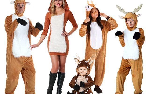 Rudolph Reindeer Costumes