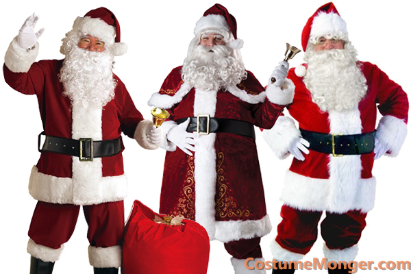 Santa Claus Costumes for Christmas
