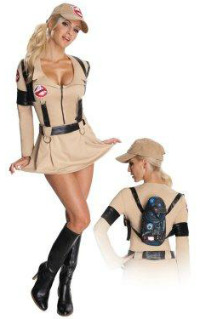 Sexy Ghostbusters Woman Costume