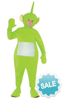Adult Dipsy Teletubby Halloween Costume