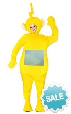 Adult Yellow Laa Laa Teletubby Halloween Costume
