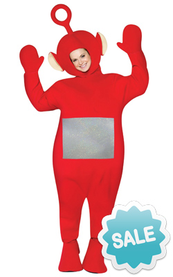 Adult Red Po Teletubby Halloween Costume