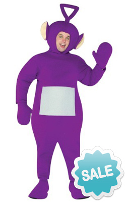 Adult Tinky Winky Teletubby Halloween Costume