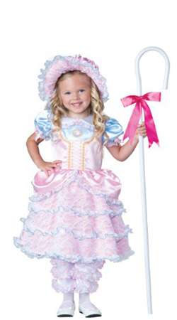 Child Bo Peep Dress Costume