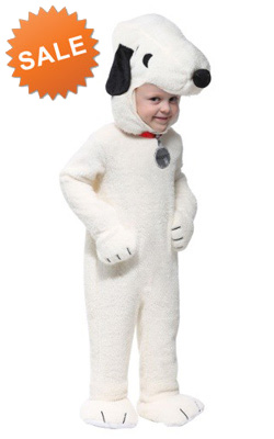 The Peanuts Deluxe Snoopy Costume for Toddlers
