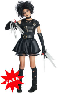 Miss Edward Scissorhands Tween Girl Costume