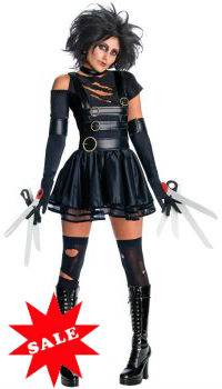 Miss Edward Scissorhands Woman Costume