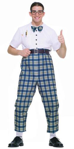 1950s Nerd Costume for Adult Men