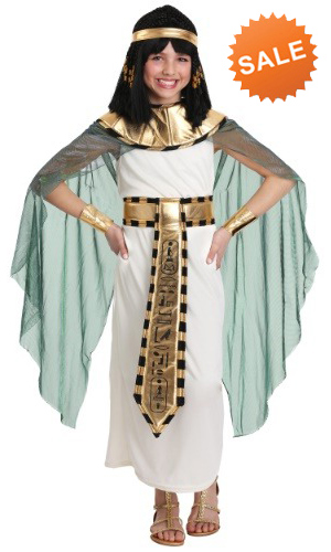 Deluxe Child Cleopatra Costume for Girls