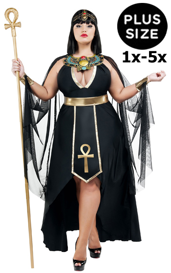 1x-5x Plus Size Egyptian Woman Dress Costume