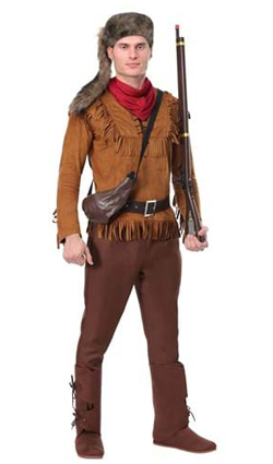 Mens Davy Crockett Costume